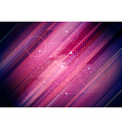 Abstract Purple Lines Background vector image vector image