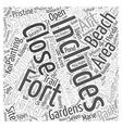 bradenton florida Word Cloud Concept vector image vector image