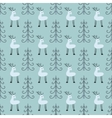 Deer forest seamless pattern vector image vector image