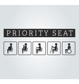 Disabilities and seniors cripple pregnant mom or vector image vector image