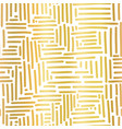 gold foil metallic abstract seamless vector image vector image