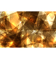 Grunge crystal composition vector image vector image