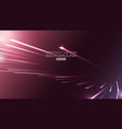 lines abstract with light on purple background vector image vector image