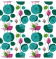 Lotus seamless pattern vector image vector image