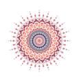 mandala line template vector image vector image