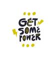 motivational sport slogan phrase sketch drawing vector image vector image
