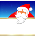 024 Merry Christmas santa and night background 004 vector image vector image