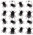 beetle bug seamless pattern vector image