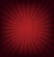 cardboard dark red wrinkles sunburst texture vector image