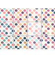 cute colorful pastel line circle seamless pattern vector image