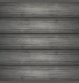 dark gray wooden planks texture vector image