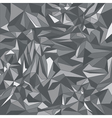 Grey triangle background vector image vector image
