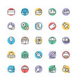 Trade Cool Icons 2 vector image vector image