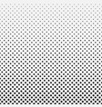 abstract hexagon halftone pattern background vector image vector image