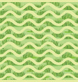 abstract wave grass lush tiled pattern summer vector image