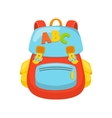 Children school bag vector image