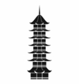 Chinese Tower vector image
