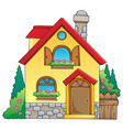 house theme image 1 vector image vector image