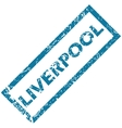 Liverpool rubber stamp vector image