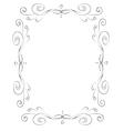 Romantic vintage frames vector image vector image