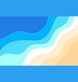 sea design concept vector image