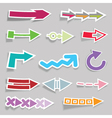 shaped symbols vector image vector image