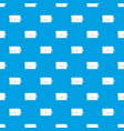 small bag pattern seamless blue vector image vector image