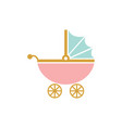 stroller icon design template isolated vector image vector image