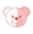 teddy bear design vector image
