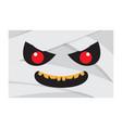 angry halloween cartoon mummy avatar