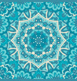 doodle abstract ornamental color with vector image vector image