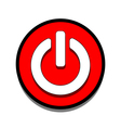 On Off switch web icon vector image