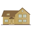 picture two floor house vector image vector image