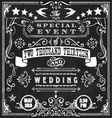 Wedding Invite 4 vector image vector image