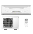air conditioning split system vector image