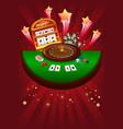 casino gambling design vector image