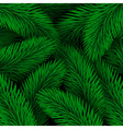 Elegant Christmas background seamless from green vector image