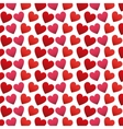 heart love pattern icon vector image vector image