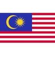 Malaysia flag image vector image vector image