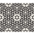 Seamless Black And White Oriental Geometric vector image