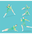 training women vector image