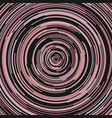 abstract ring background from concentric half vector image vector image