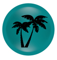 black palm vector image