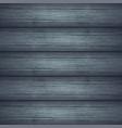 dark gray wooden planks texture vector image vector image