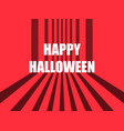 happy halloween october 31st horror retro vector image