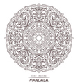 mandala for coloring with decorative element vector image vector image