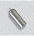 paint aerosol spray metal bottle can graffiti vector image vector image