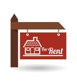 Real estate design home concept Property icon vector image vector image