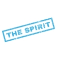 The Spirit Rubber Stamp