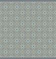 Silver Gray vintage seamless wallpaper vector image